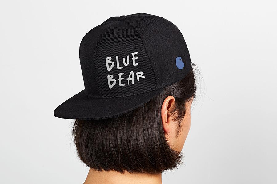 蓝小熊IP设计