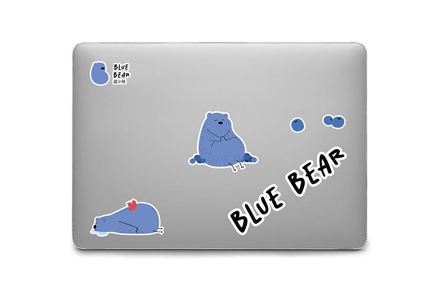 蓝小熊形象设计