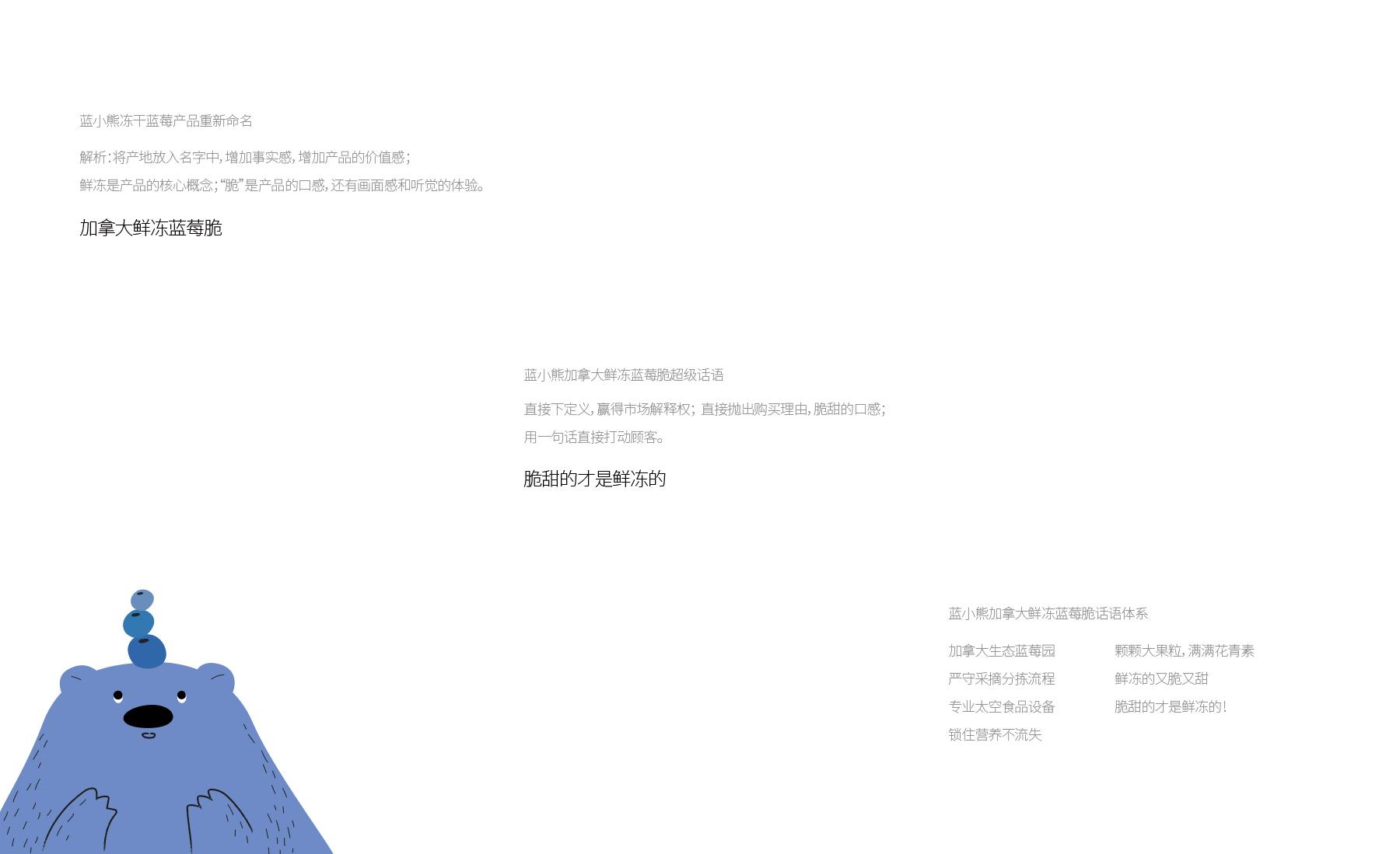 蓝小熊品牌策略设计